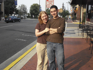 The happy couple in Paducah… Kentucky's coolest small town.